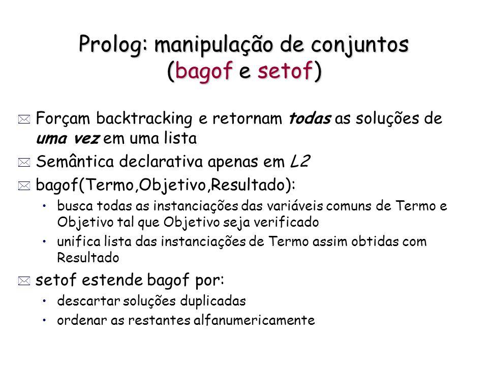 Prolog: manipulação de conjuntos (bagof e setof)