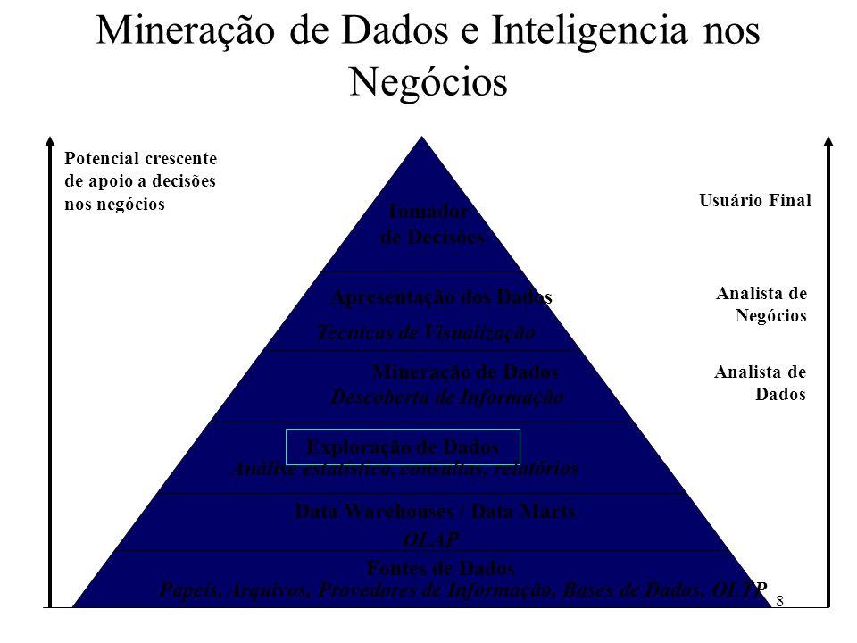 Mineração de Dados e Inteligencia nos Negócios