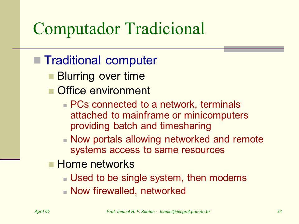 Computador Tradicional