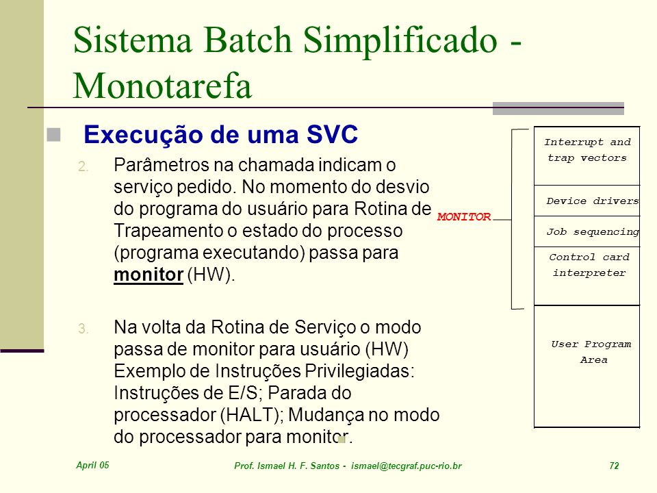 Sistema Batch Simplificado - Monotarefa