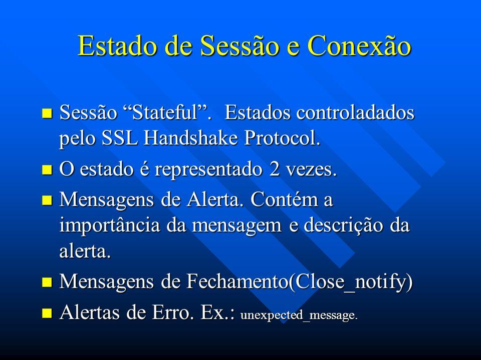 Estado de Sessão e Conexão