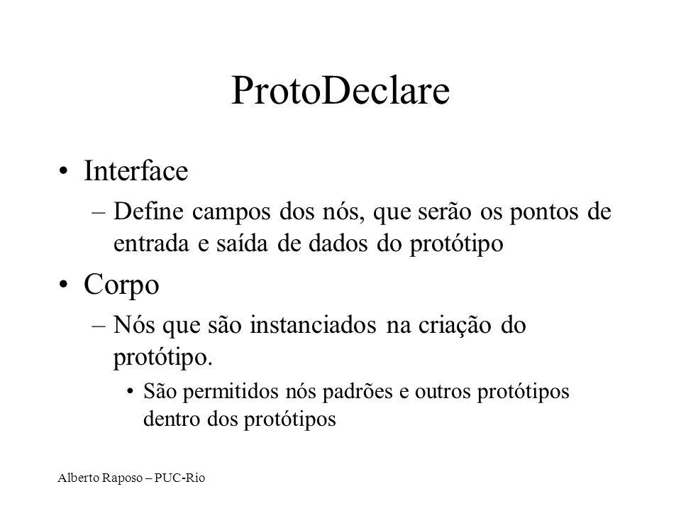 ProtoDeclare Interface Corpo