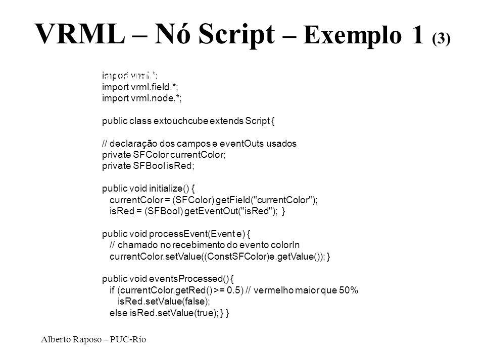 VRML – Nó Script – Exemplo 1 (3)