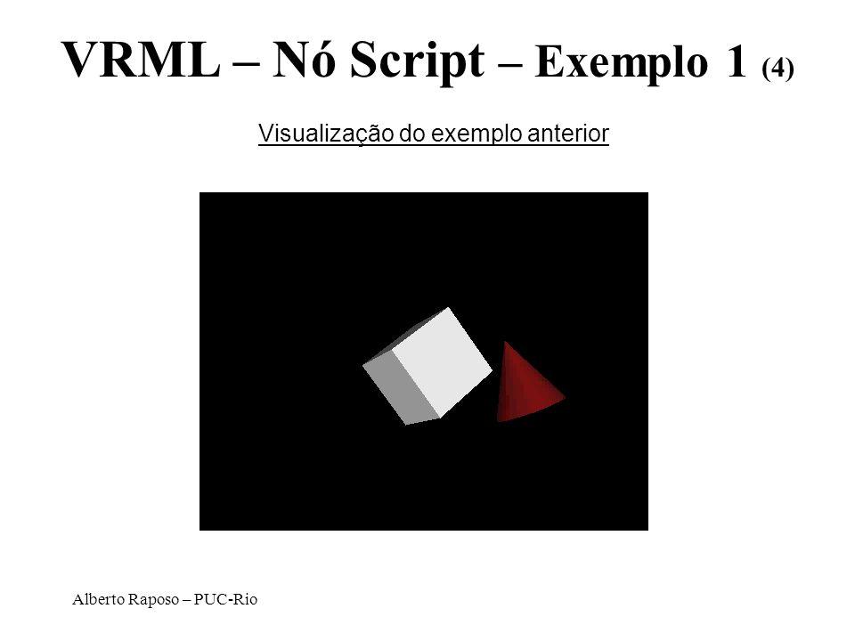 VRML – Nó Script – Exemplo 1 (4)