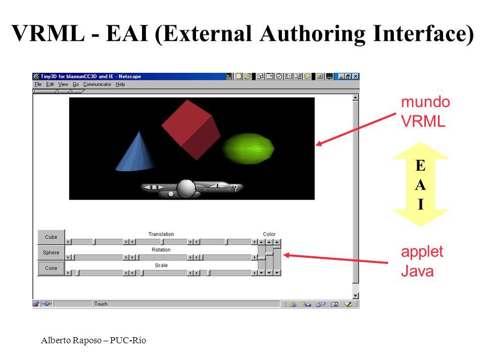 VRML - EAI (External Authoring Interface)