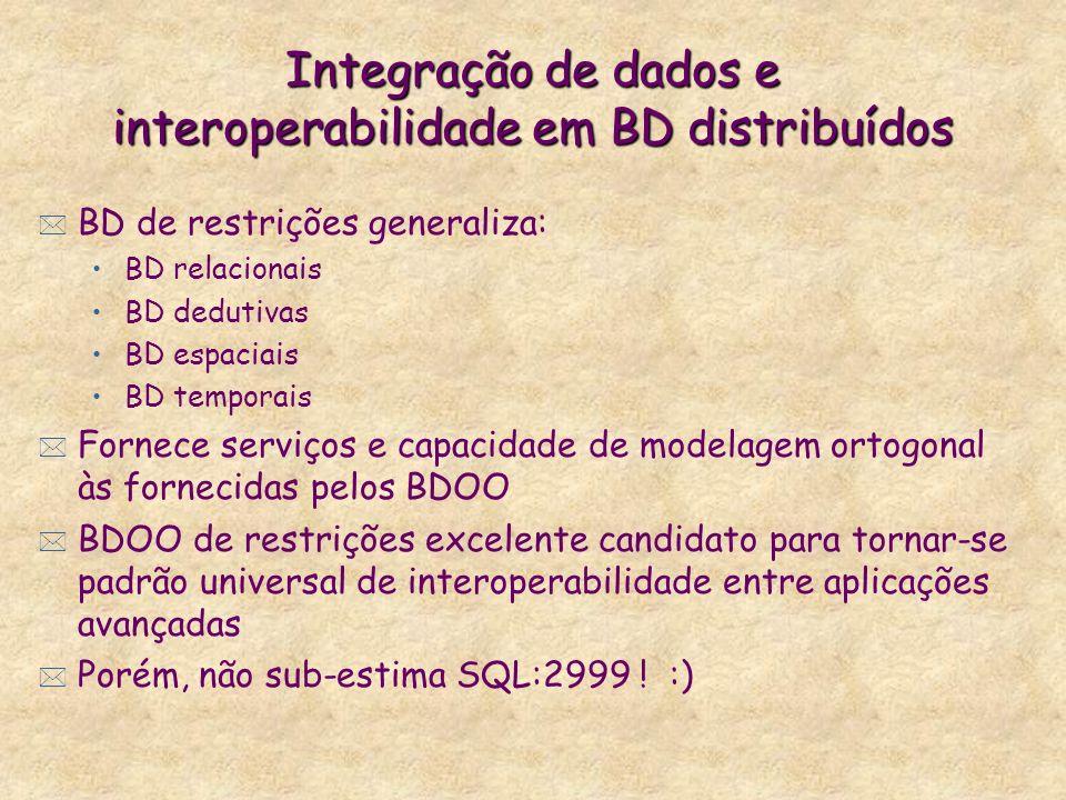 Integração de dados e interoperabilidade em BD distribuídos