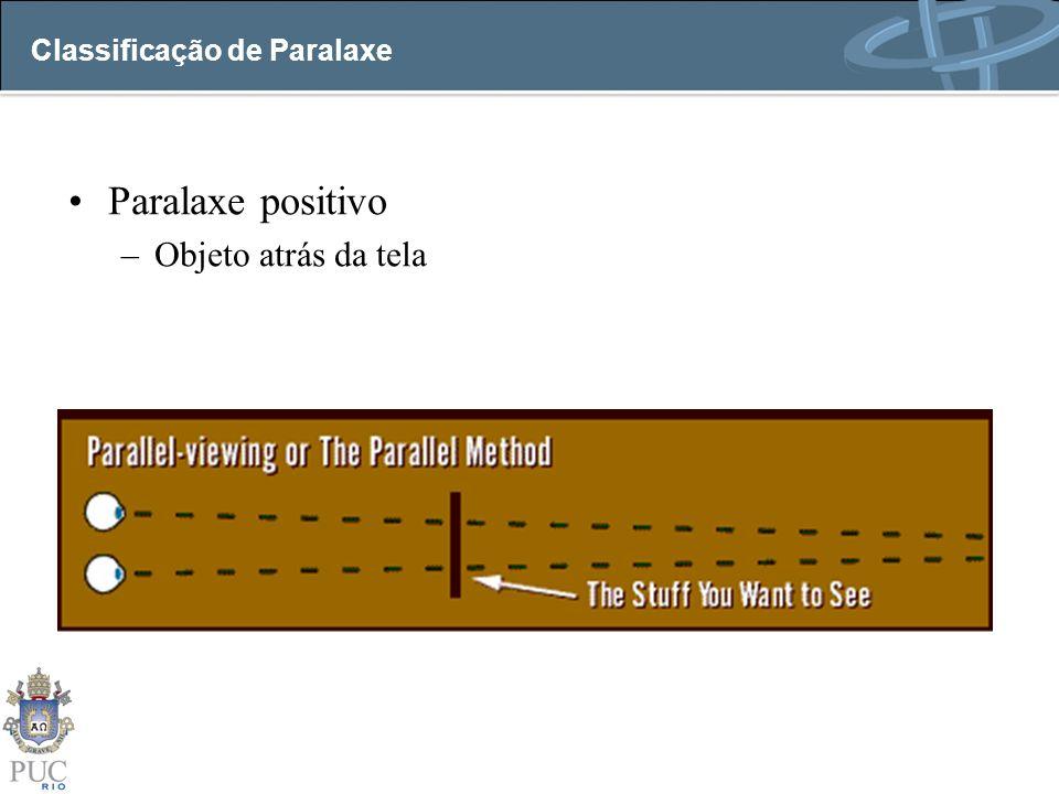 Classificação de Paralaxe