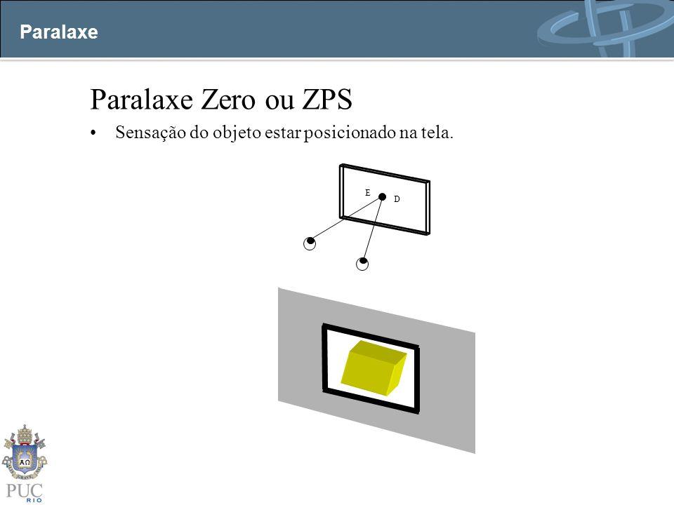 Paralaxe Zero ou ZPS Paralaxe