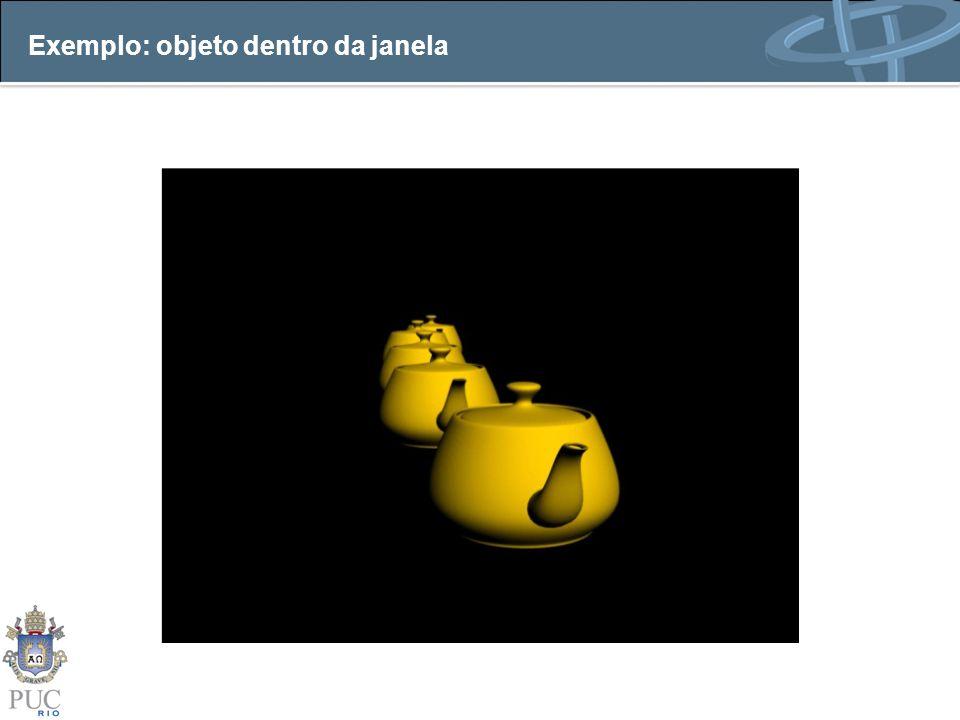 Exemplo: objeto dentro da janela