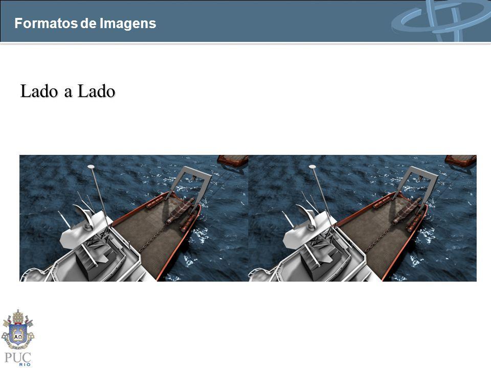 Lado a Lado Formatos de Imagens