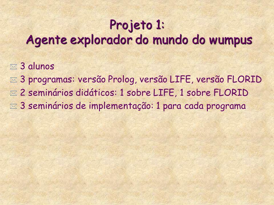 Projeto 1: Agente explorador do mundo do wumpus