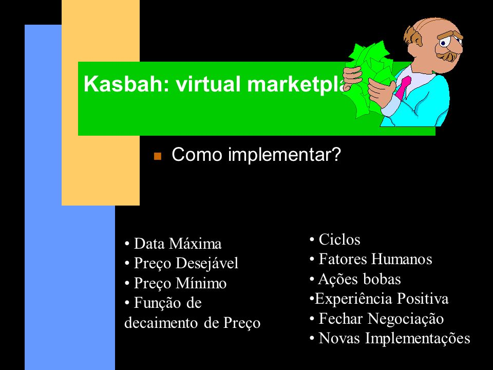 Kasbah: virtual marketplace