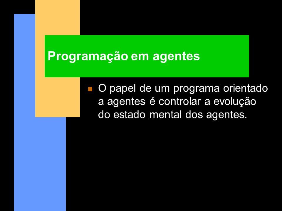 Programação em agentes