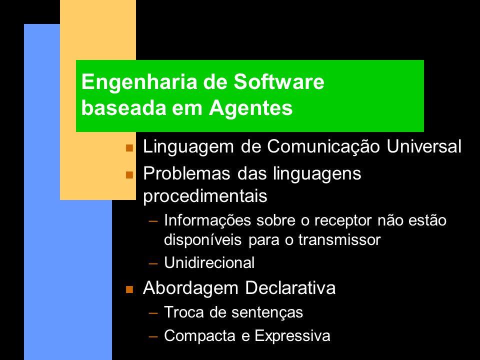 Engenharia de Software baseada em Agentes