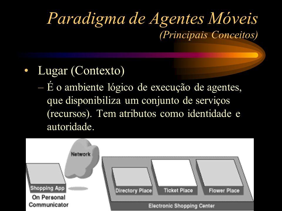 Paradigma de Agentes Móveis (Principais Conceitos)