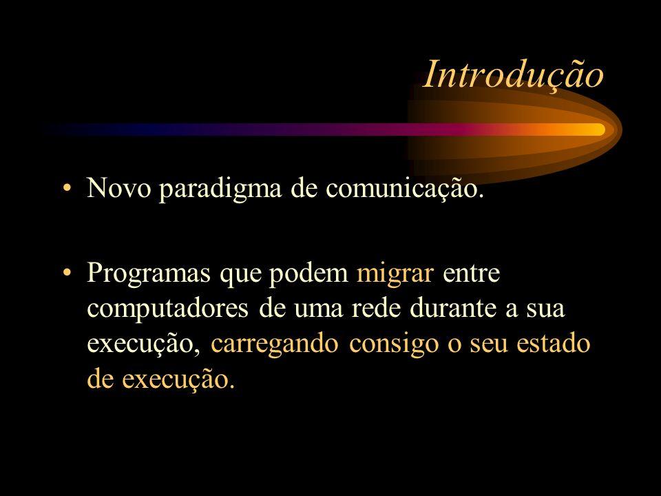 Introdução Novo paradigma de comunicação.