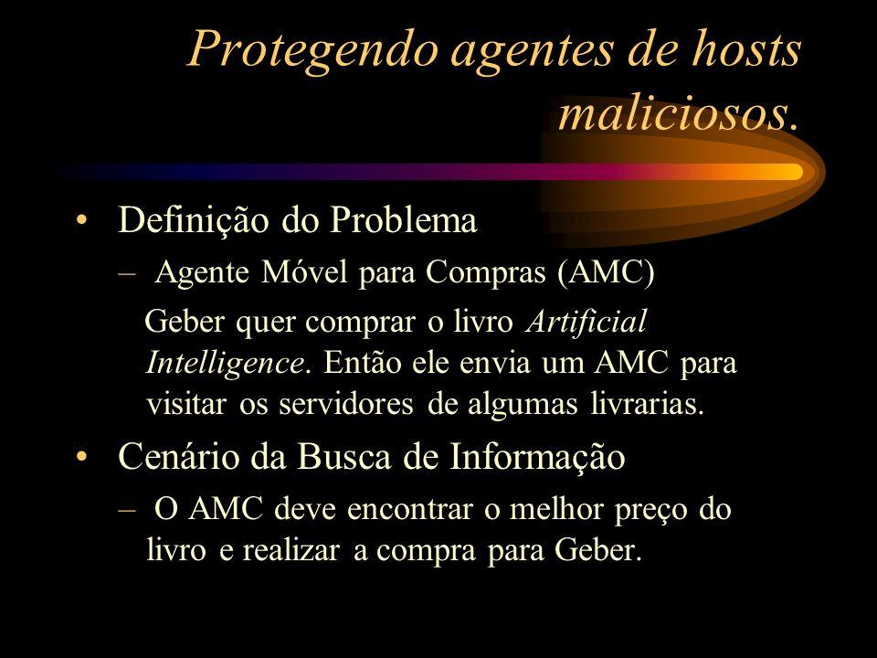 Protegendo agentes de hosts maliciosos.