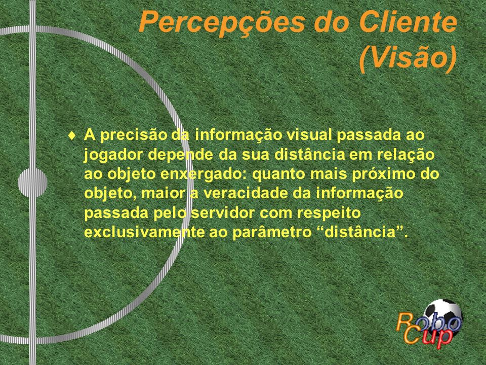 Percepções do Cliente (Visão)