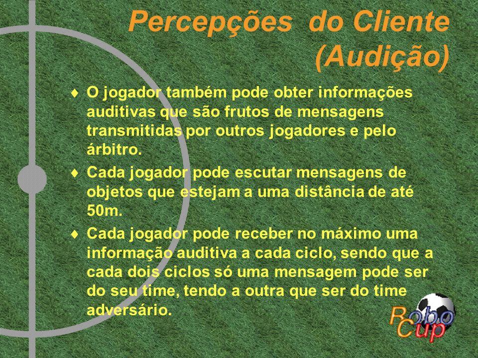 Percepções do Cliente (Audição)