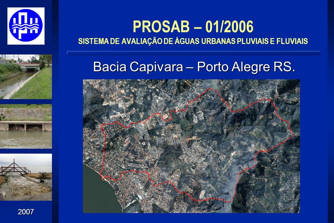 Bacia Capivara – Porto Alegre RS.