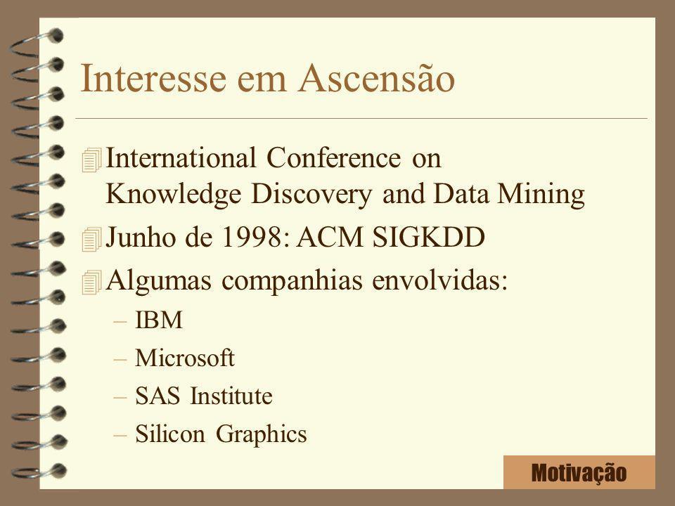 Interesse em Ascensão International Conference on Knowledge Discovery and Data Mining. Junho de 1998: ACM SIGKDD.