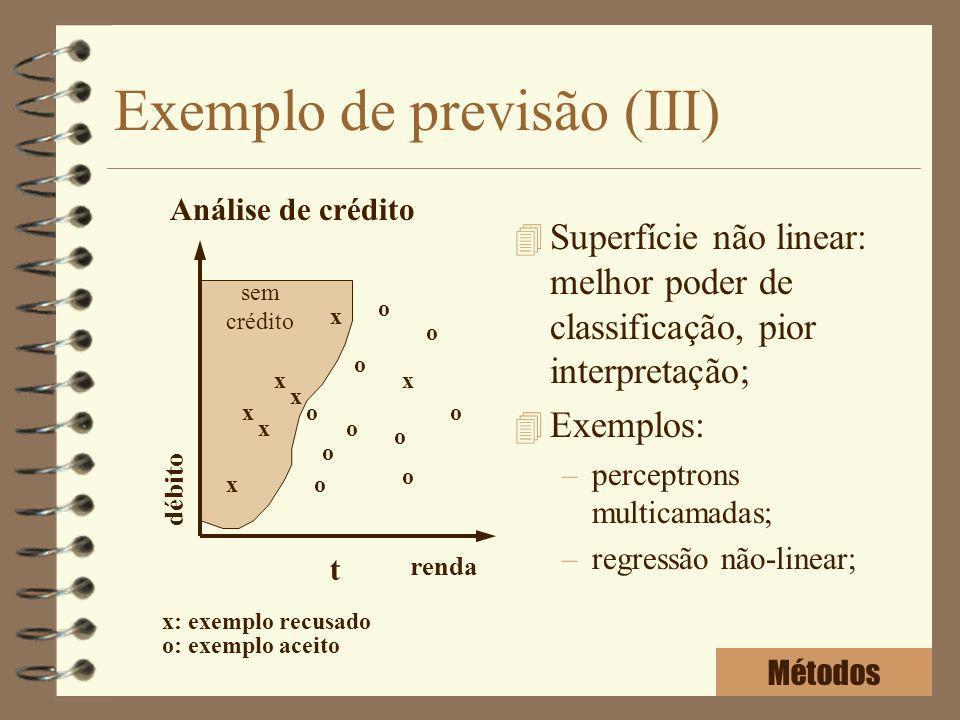 Exemplo de previsão (III)