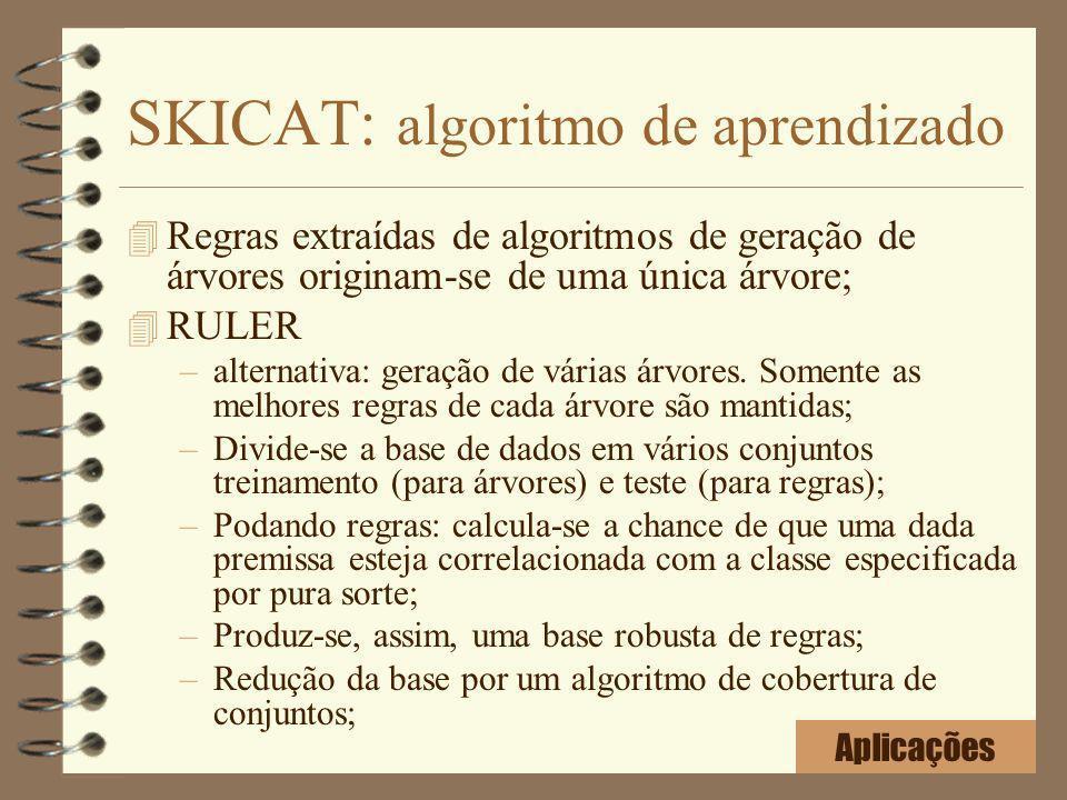 SKICAT: algoritmo de aprendizado