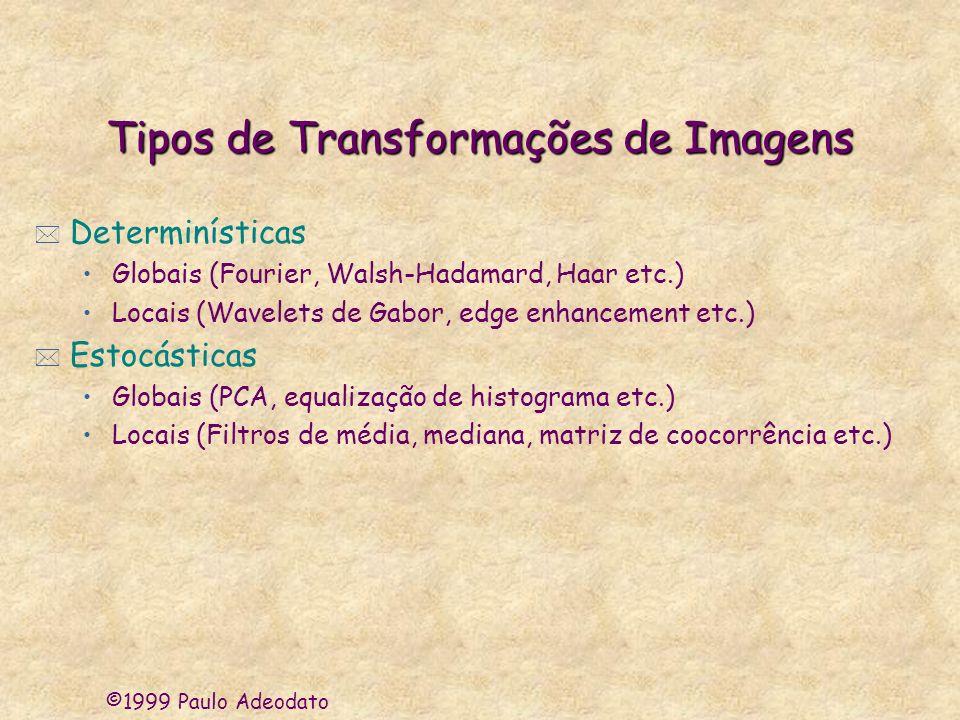 Tipos de Transformações de Imagens