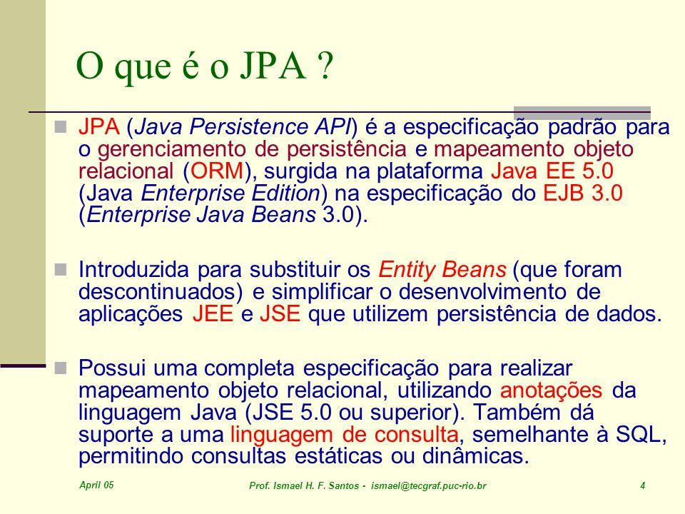 O que é o JPA