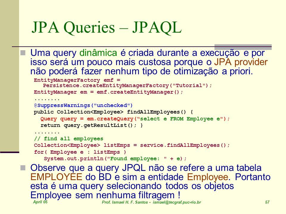 JPA Queries – JPAQL