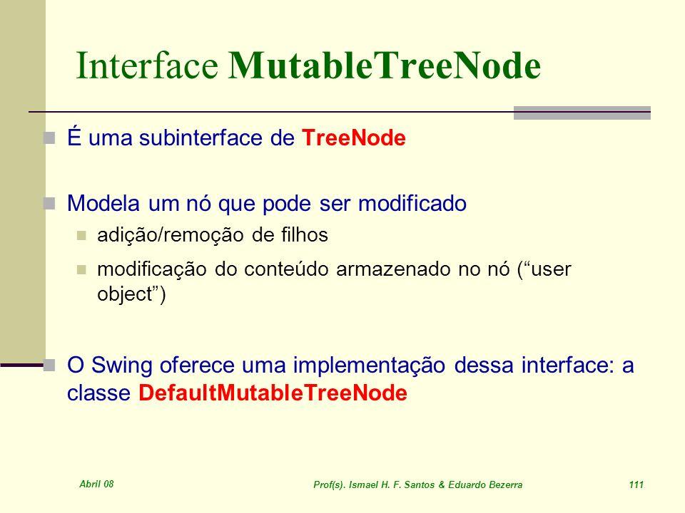 Interface MutableTreeNode