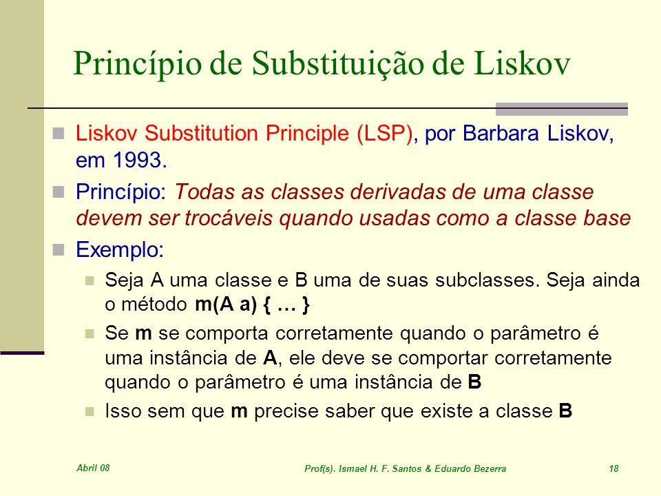 Princípio de Substituição de Liskov