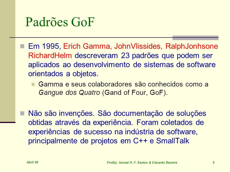 Prof(s). Ismael H. F. Santos & Eduardo Bezerra 6