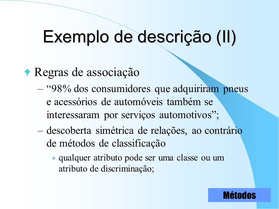 Exemplo de descrição (II)