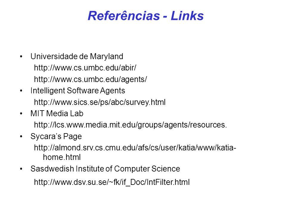 Referências - Links Universidade de Maryland