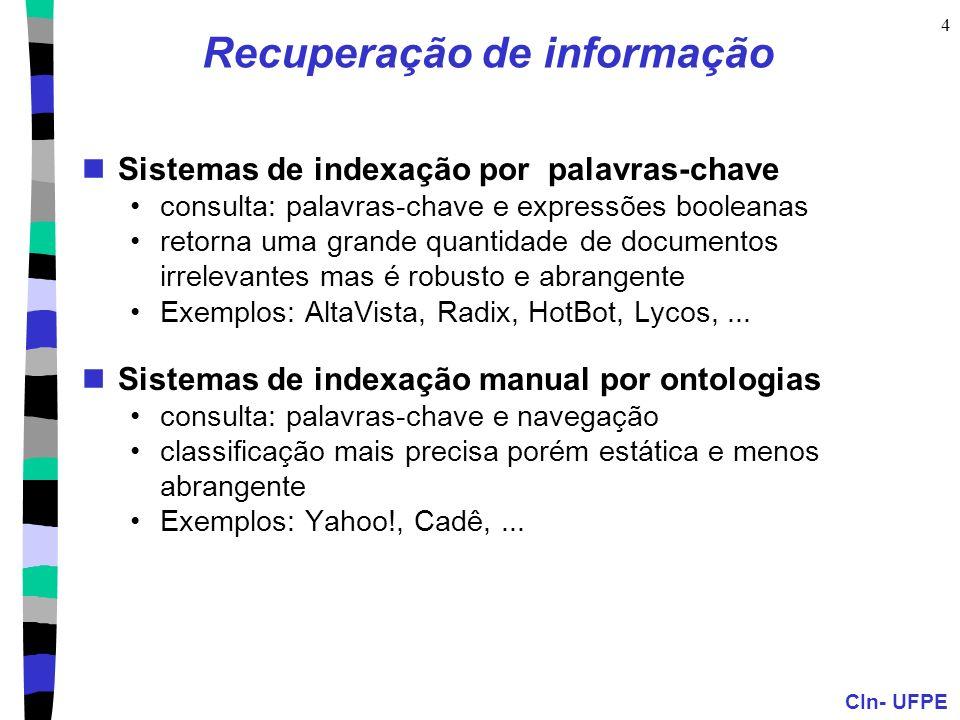 Recuperação de informação