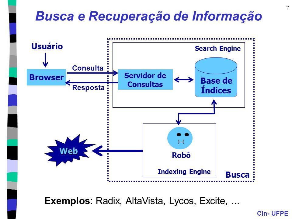 Busca e Recuperação de Informação