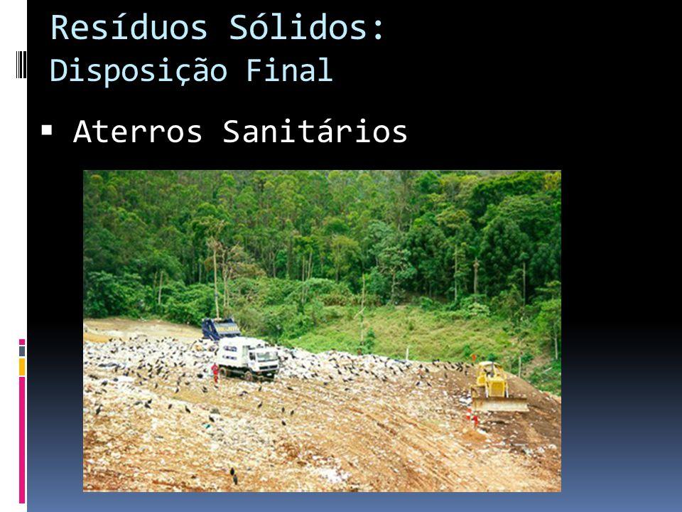 Resíduos Sólidos: Disposição Final
