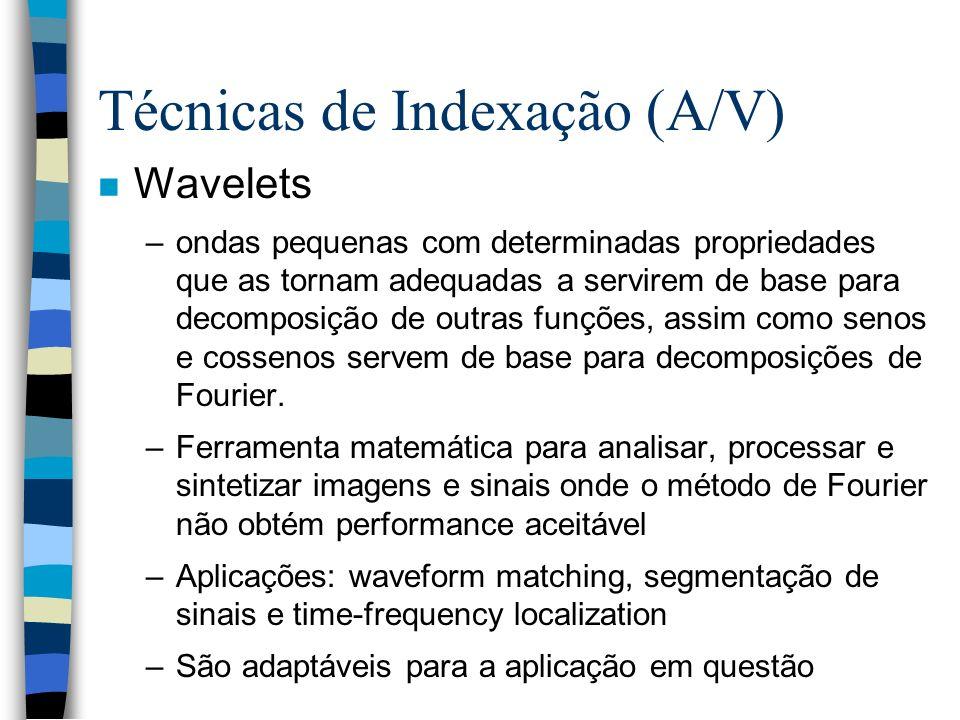 Técnicas de Indexação (A/V)