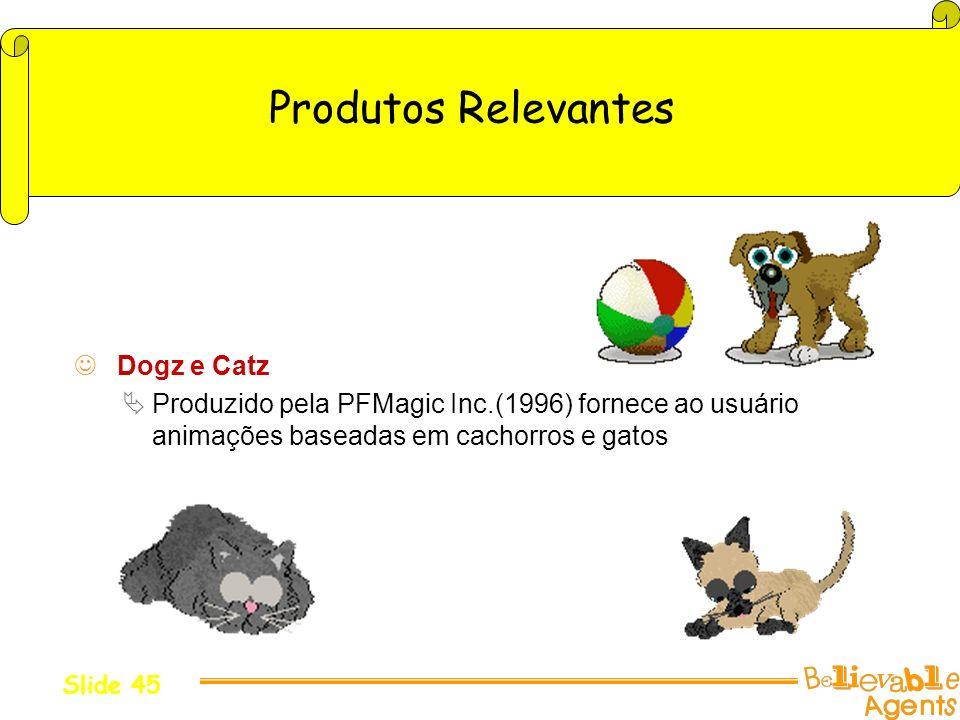 Produtos Relevantes Dogz e Catz