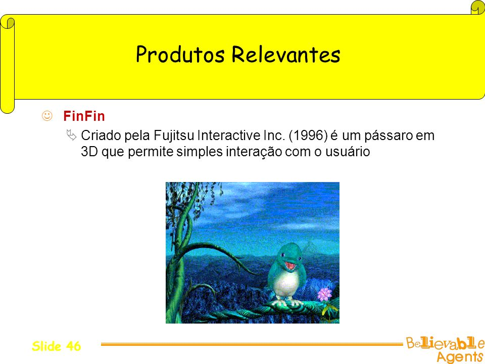 Produtos Relevantes FinFin