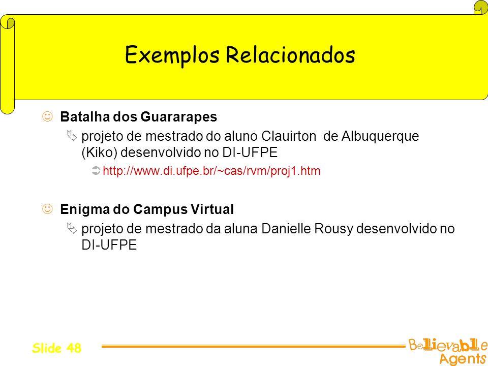 Exemplos Relacionados
