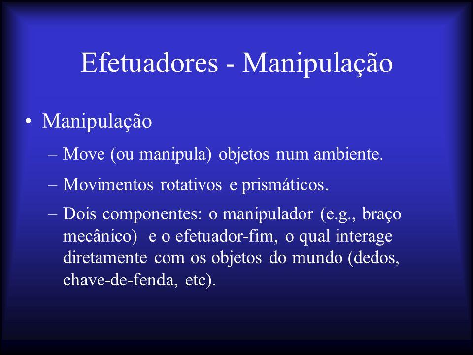 Efetuadores - Manipulação