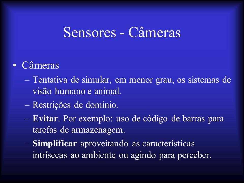 Sensores - Câmeras Câmeras
