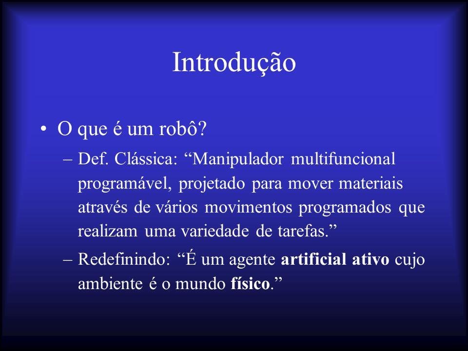 Introdução O que é um robô