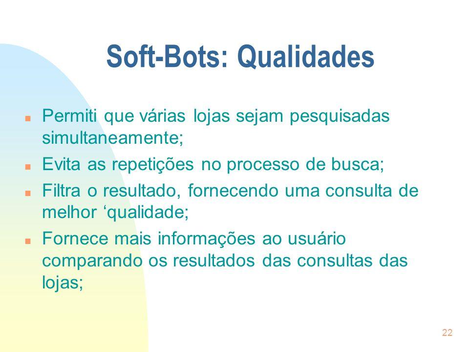 Soft-Bots: Qualidades