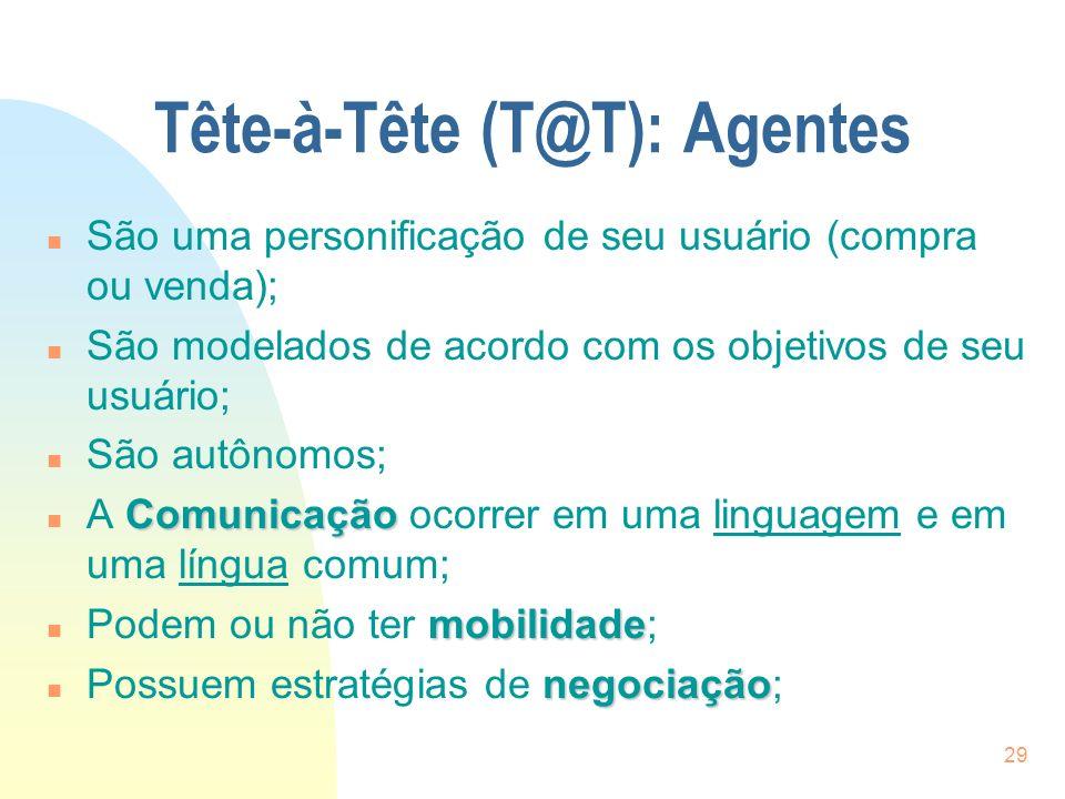 Tête-à-Tête (T@T): Agentes