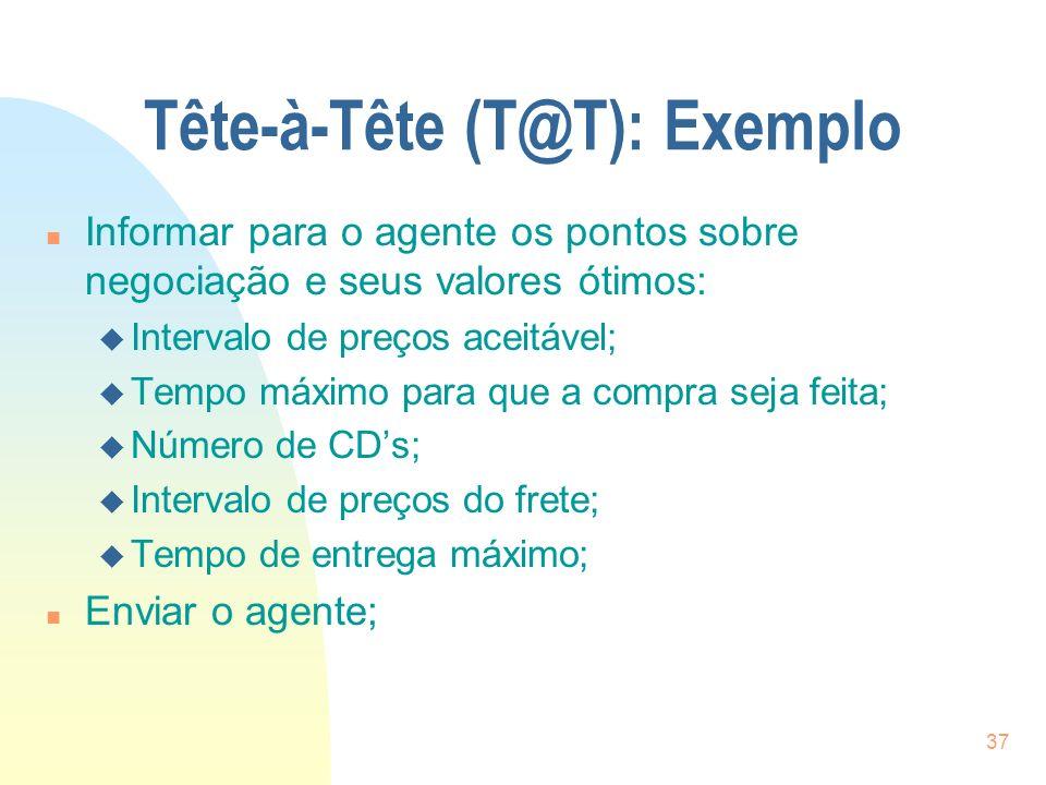 Tête-à-Tête (T@T): Exemplo