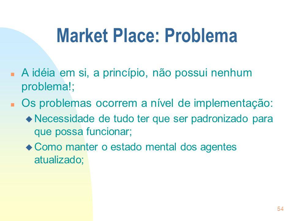 Market Place: Problema