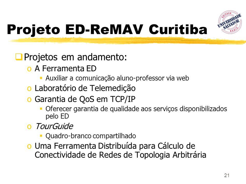 Projeto ED-ReMAV Curitiba